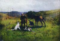 Охота. 1885