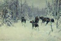 Лоси. 1919
