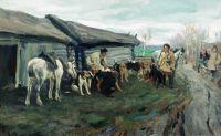 Сбор на охоту. 1900-е
