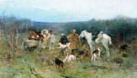 После охоты. 1900-1910