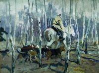 С гончими на охоту. 1900-1910