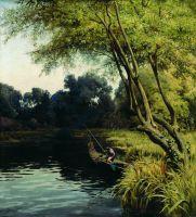В луговых зарослях (Подольская губерния). 1890