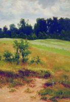 В поле. 1890