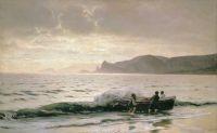 Берег моря у Судака (Крым). 1889