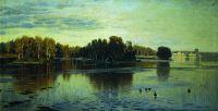 Пруд. Летний вечер. 1890-е