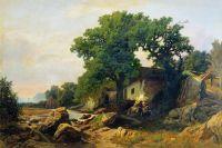 Пейзаж в окрестностях Алушты. 1870