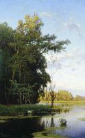 Озеро в Гатчинском парке. 1881