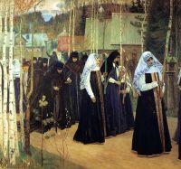 Великий постриг. 1898