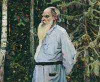 Портрет Л.Н.Толстого. 1918