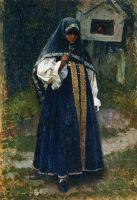 Девушка-нижегородка. 1887