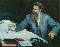 Портрет Отто Юльевича Шмидта. 1937