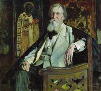 Портрет художника В.М.Васнецова. 1925