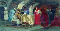 Папские послы у Ивана Грозного. 1884