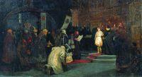Избрание Михаила Федоровича на царство (Призвание Михаила Федоровича на царство). 1886