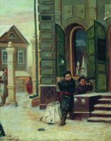 В снежки. 1879