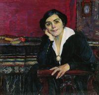 Портрет А.М.Щепкиной. 1925