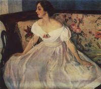 Портрет В.М.Нестеровой. 1928