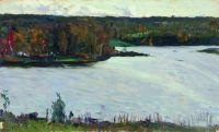Пейзаж с рекой. 1911
