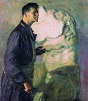 Портрет скульптора И.Д.Шадра. 1934