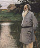 Портрет Л.Н.Толстого. 1907
