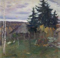 Осень в деревне. 1942