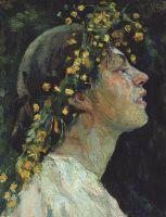 Женская голова. 1921-1922
