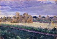 Скирды. 1910-е