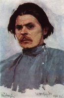 Портрет Максима Горького