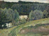 Пруд. Около хутора Княгинино. 1906