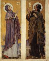 Богоматерь и Святой Иоанн. 1899