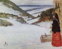 Зима в монастыре. 1904