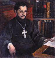 Портрет неизвестного священника (С.Н.Дурылин). 1926