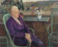 Портрет С.И.Тютчевой. 1927-1928