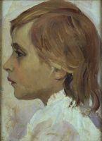 Голова девочки. 1889