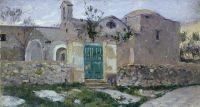 Капри. Вход в монастырь. 1908