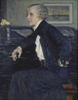 Портрет художницы Е.С.Кругликовой. 1938