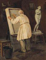 Старый художник. 1884