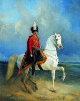 Обер-офицер лейб-гвардии Гуарского полка