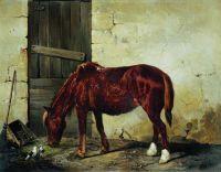 Рабочая лошадь. 1859