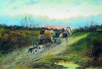 С охоты. 1860