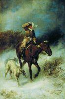 Возвращение с охоты. 1870