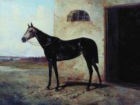 Серая лошадь. 1872