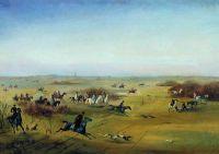 Охота в Ропше. 1857