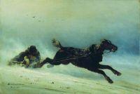 Волки нагоняют. 1864