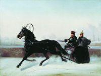 Николай I в санях. 1895