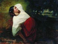 Спящая девушка. 1853