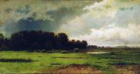 Облачный день. 1881