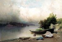 На реке. 1898