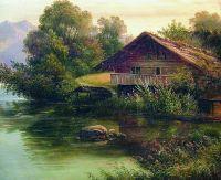 У воды. 1860