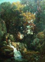 Водопад. 1880-е